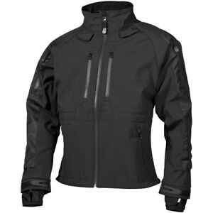 MFH-Protect-Chaqueta-Softshell-Ejercito-Policia-Tactica-Impermeable-Hombre-Negro