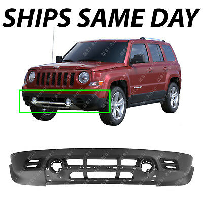 New Bumper Cover Facial Front Lower for Jeep Patriot 11-17 CH1015111 68091523AA