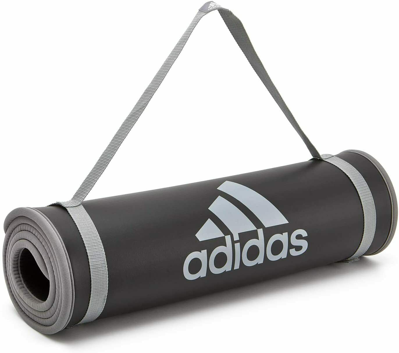 Adidas Esterilla de Entrenamiento para Hogar o Gimnasio 183x61x1 cm Reversible