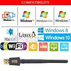 300Mbps antenna Wireless USB Wifi Wi-Fi Adapter 802.11n PC Raspberry Pi 1 2 Zero