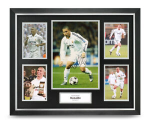 3631d2014 Image is loading Ronaldo-Signed-Photo-Large-Framed-Real-Madrid-Display-