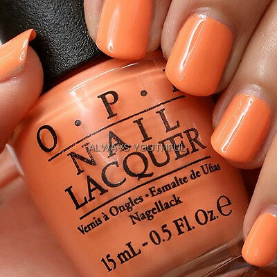 OPI NAIL POLISH Where Did Suzi's Man-go? A66 - Brazil Collection