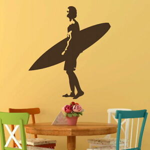 Surfing Wall Stickers Surf Board Transfer  Surfer Graphics Surfing Decor RA249 - Tamworth, Staffordshire, United Kingdom - Surfing Wall Stickers Surf Board Transfer  Surfer Graphics Surfing Decor RA249 - Tamworth, Staffordshire, United Kingdom