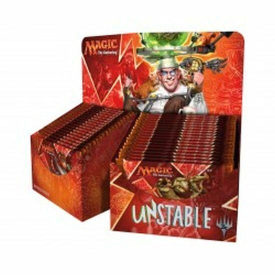 1 X Unstable  Booster Kiste Neu Ovp Produkt - Zauberei  The Gathering