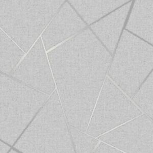 QUARTZ-FRACTAL-WALLPAPER-GEOMETRIC-METALLIC-SILVER-FD42280-FINE-DECOR