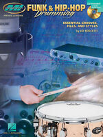 Funk & Hip Hop Drumming Essential Grooves Ed Roscetti Book Cd