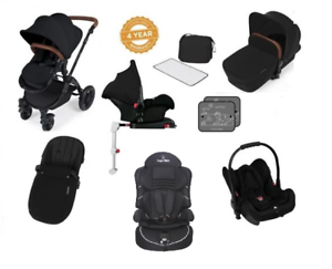 Image Is Loading Ickle Bubba Stomp V3 Isofix Travel System Black