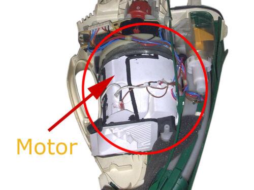 Motor Ersatzmotor 900W geeignet für VORWERK Kobold 135 136 VK135 VK136 TÜV