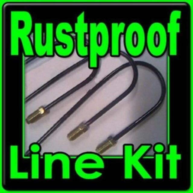 Rustproof Metal brake line kit BMW Mercedes 1961-1997 -replace corroded lines!