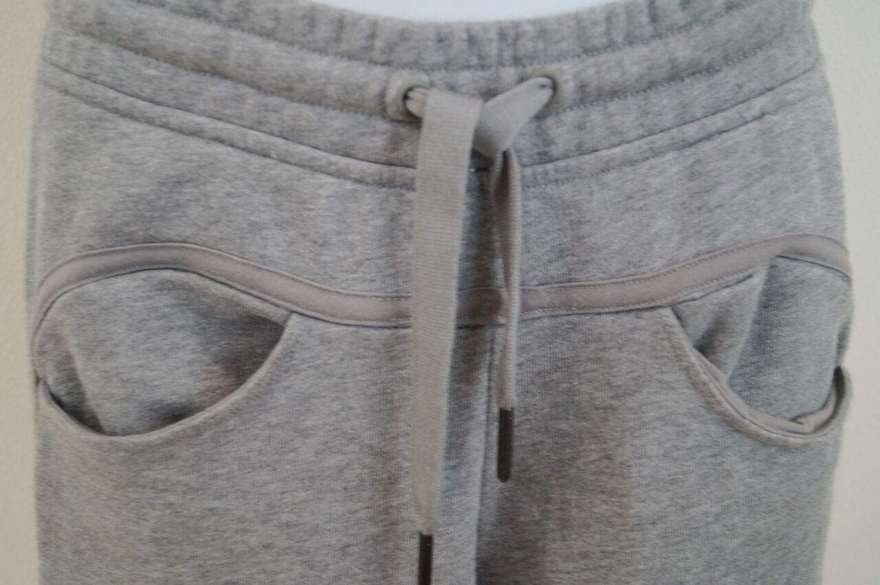 STELLA Mccartney Mccartney Mccartney For Adidas Grigio 100% COTONE Activewear Pantaloni Casual Pantaloni XS 46c423