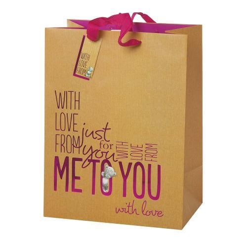 Extra Large Gift Bag Me to You Tatty Teddy Bear