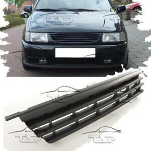 front black grill for vw polo 6n 94 99 spoiler body kit. Black Bedroom Furniture Sets. Home Design Ideas