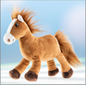 Schaffer, Animal Collection Magic The Horse, Soft Toy 38cm, SC5543. gift