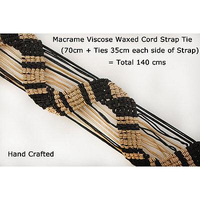 Neotrim Hand Macramé Waxed Viscose Cord Trimming Tiebacks,Fastening Accessories