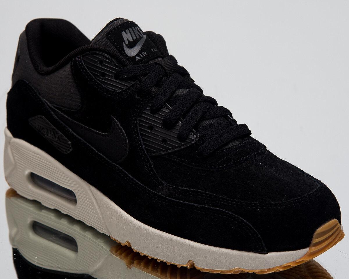 Nike Sportschuhe Günstig Nike Air Max 90 Leather Schwarz