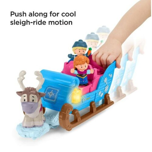 Disney Frozen Kristoff/'s Sleigh by Little People New toys toy  2019