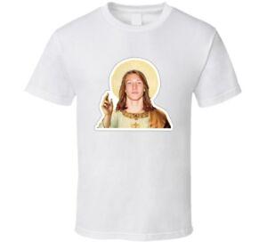 9daa7693c Image is loading Trevor-Lawrence-Clemson-Football-Touchdown-Jesus-T-Shirt