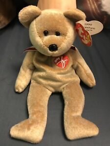 Image is loading TY-Beanie-Baby-Retired-039-1999-SIGNATURE-BEAR- 795eb3d76f