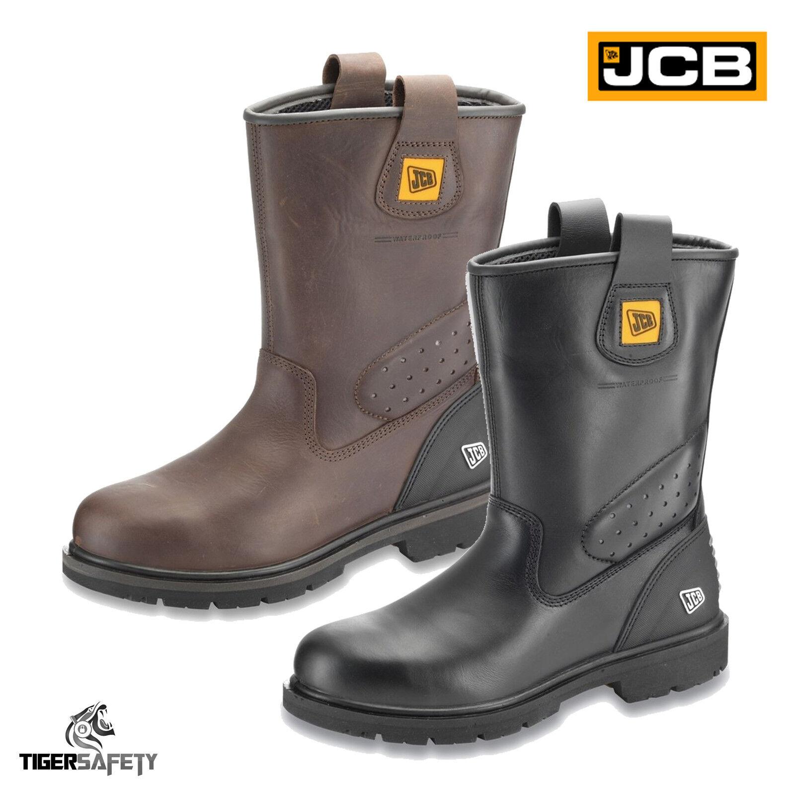 Jcb Track pro Acciaio S3 con Punta in Acciaio pro Impermeabili di Qualità Lavoro 5bf2d3