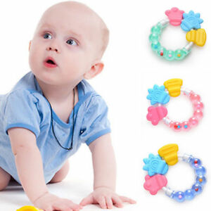Carrot Shape Baby Teether Food Grade Silicone Teething Chew Toddler Molar Toy