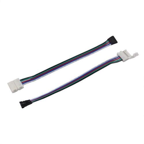 5x Verbinder für RGBW LED-Streifen 12mm Clip-Kabel-Buchse ; Gesamtlänge ca 17cm