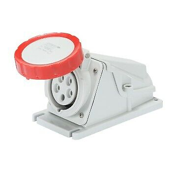 IP67-3P+N+E 16A GW62505 90° ANGLED SURFACE-MOUNTING SOCKET-OUTLET