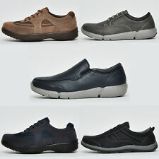 Mens Caravelle COMFORT FOAM Shoes Smart Casual Lace Up Trainers From £12.99