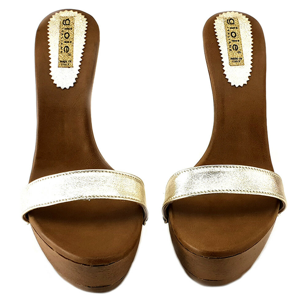 Sandali gold gold gold con Tacco Metallico - G003 gold 6f624d