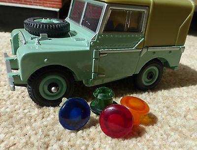 Land Rover Series 1 2 Dash Panel Warning Light Glass Lenses 262922 262924 262923