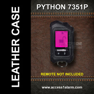 Details about Python 7351P Protective Leather Remote Control Case For  Responder Remote Control