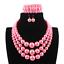 Women-Bohemian-Choker-Chunk-Crystal-Statement-Necklace-Wedding-Jewelry-Set thumbnail 152