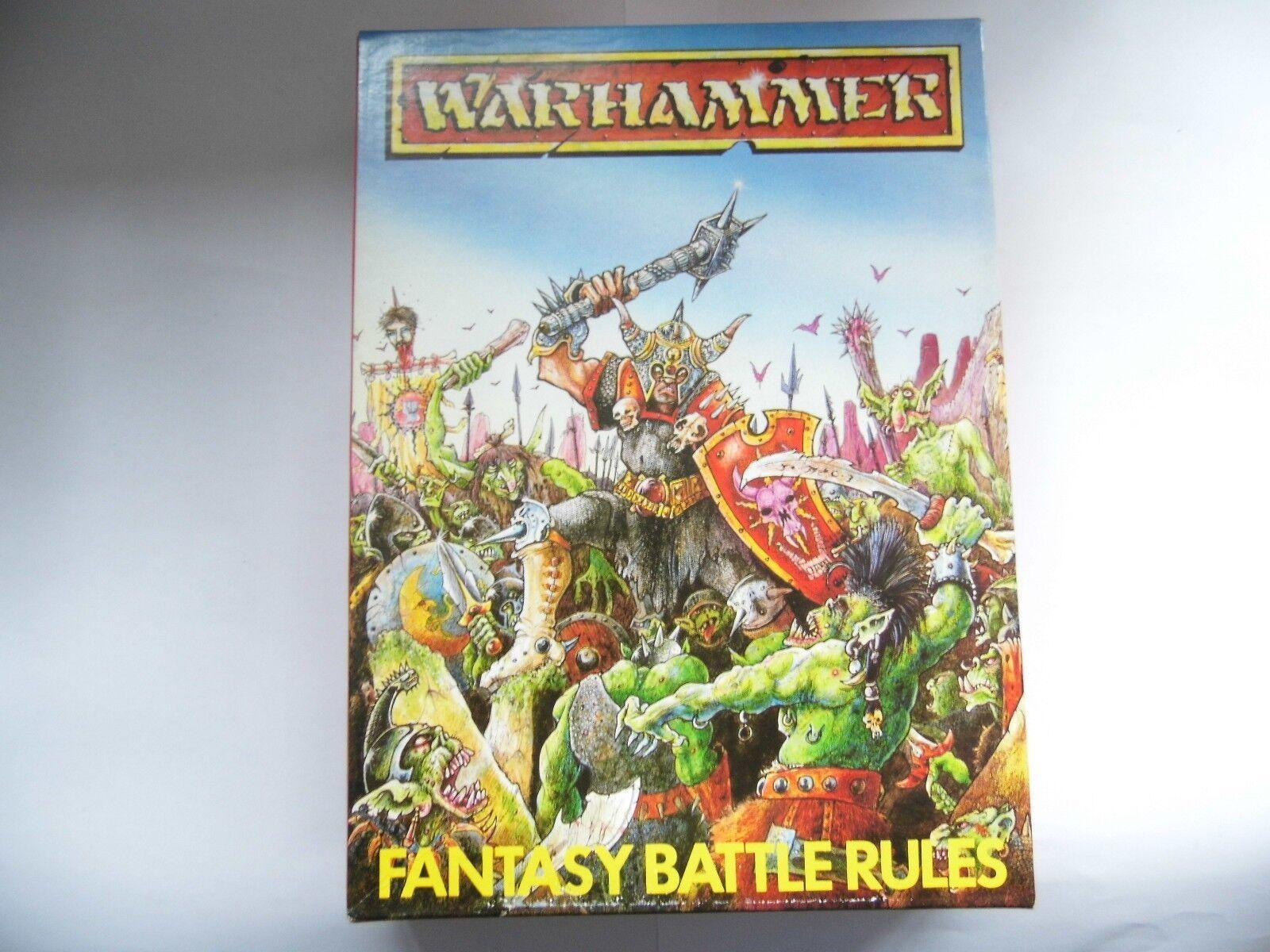 Warhammer Fantaisie Bataille Règles 2nd Édition Games Workshop Joe