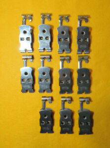 FRACO-Lotto-composto-da-N-11-pinzette-in-acciaio-inox-x-appendi-films-pell-le