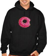 Mens Womens Casual 3D Donut Sprinkle Design Sweatshirt Hoodie Costume Sweater ZG