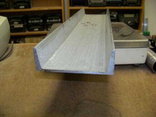 "6/"" Aluminum Channel 6061 T6 6/"" x 2/"" x .2/""  web American Standard  31/"" long"