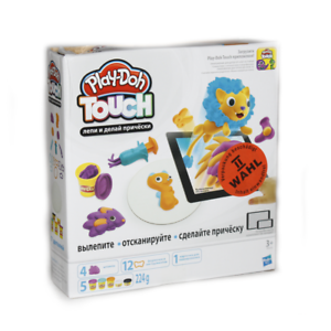 Play-Doh Knete Hasbro B9018 Touch Haare Boosterset Spiel Spielset Spielzeug