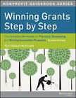 Winning Grants Step by Step: The Complete Workbook for Planning, Developing and Writing Successful Proposals by Tori O'Neal McElrath, Mim Carlson (Paperback, 2013)
