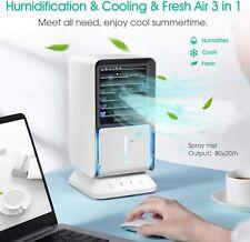 DOUHE Aire Acondicionado Portátil, Mini Enfriador de Aire, 4
