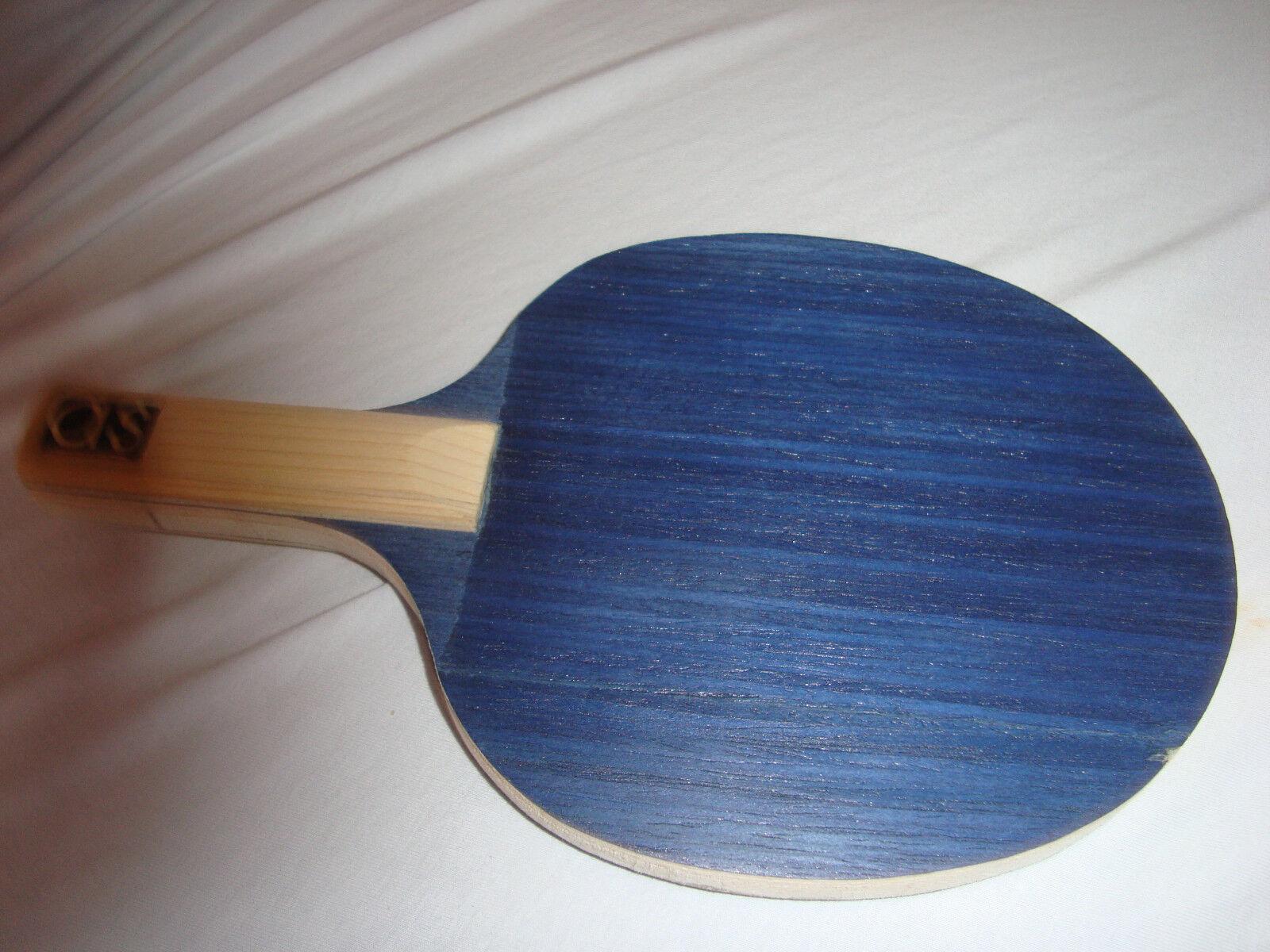 Tischtennis Holz a und und und s table tennis bat, Balsa neu, auch Sonderanfertigungen b22edb