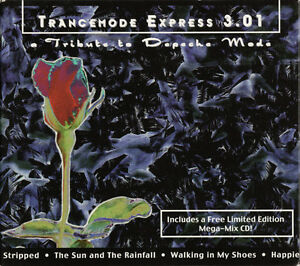 Depeche-Mode-Tribute-CD-Trancemode-Express-3-01-Digipak-Limited-Edition-USA