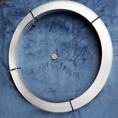 Spring steel strip coil 12.20mm x0.6mm X 5kg C75S annealed carbon steel.