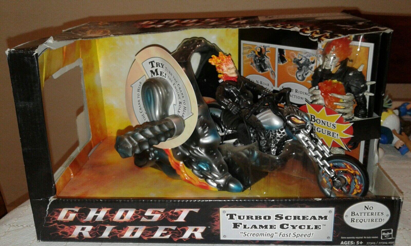Marvel - legenden ghost rider film turbo schreien flamme zyklus + bonus wert (a3)