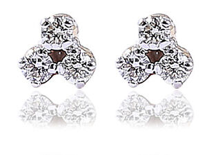 Pave-0-22-Cts-Natural-Diamonds-Stud-Earrings-In-Solid-Certified-14K-Yellow-Gold