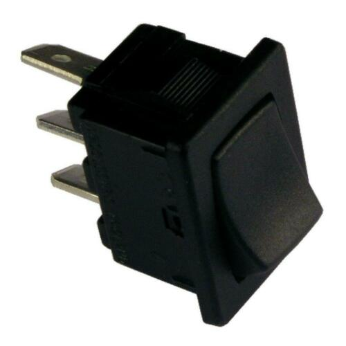 Interrupteur va et vient H 8610 VBAAA Commutateur 1 Pôle un-un 1xum 6 A 250 V AC Noir 855234