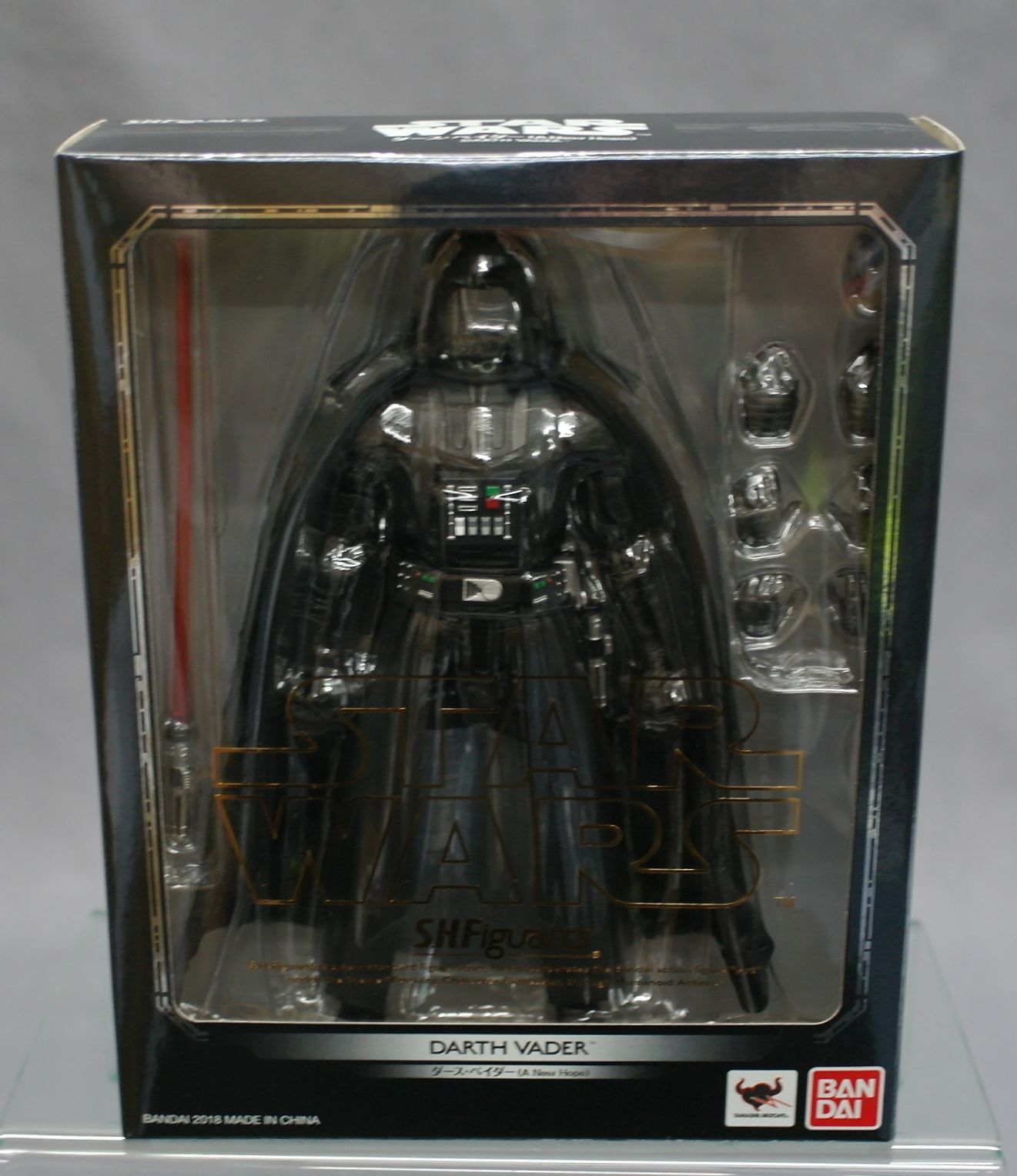 SH S.H. Figuarts Darth Vader (A NEW HOPE) Star Wars Episode IV Bandai Japan NEW