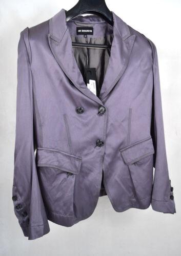 Ann Demeulemeester Jacket Jeffrey Blazer Grey Silk