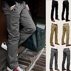 2016 Men Formal Casual Pencil Leisure Pants Slim Fit Straight-Leg Jeans Trousers
