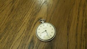 Vintage pocket watch  MOLNIJA MOLNIYA USSR  Mechanics