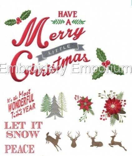 MACHINE EMBROIDERY DESIGNS ON CD OR USB BERRIES /& BIRCH COLLECTION