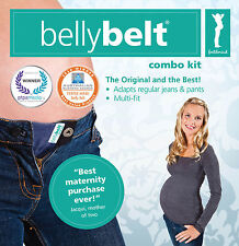 Maternity Belly Belt Combo Kit NEW! Buttons on Jeans